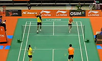 何汉斌/于洋VS宋邦/库查拉 2011新加坡公开赛 混双1/16决赛视频
