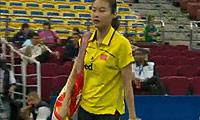 王仪涵VS菲比 2010尤伯杯 女单半决赛视频
