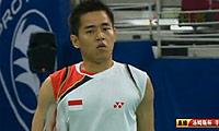 佐佐木翔VS西蒙 2010汤姆斯杯 男单半决赛视频