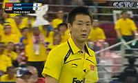 陈金VS黄综翰 2010汤姆斯杯 男单半决赛视频