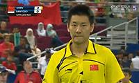 陈金VS西蒙 2010汤姆斯杯 男单决赛视频