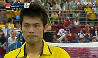 林丹VS陶菲克 2010汤姆斯杯 男单决赛视频