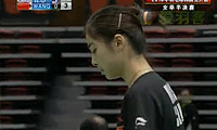 王适娴VS金纹希 2010韩国公开赛 女单半决赛视频