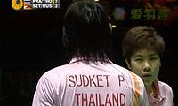 苏吉特/莎拉丽VS塞蒂亚万/鲁斯基赫 2011全英公开赛 混双半决赛视频