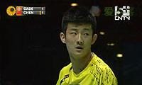 谌龙VS盖德 2011全英公开赛 男单1/4决赛明仕亚洲官网