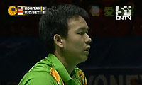 陈文宏/古健杰VS基多/塞蒂亚万 2011全英公开赛 男双1/4决赛视频