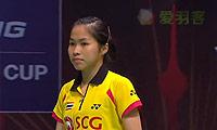 因达农VS高桥沙也加 2013苏迪曼杯 女单1/4决赛视频
