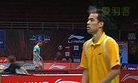 埃里克VS基兰 2013苏迪曼杯 男单资格赛视频