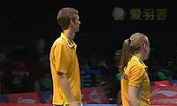 布莱尔/班克尔VS皮克/博世 2013苏迪曼杯 混双资格赛视频
