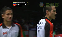 阿德里安/德里克VS乔纳森/帕特里克 2013苏迪曼杯 男双资格赛明仕亚洲官网
