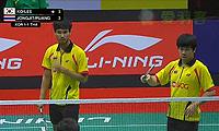 高成炫/李龙大VS玛尼蓬/尼迪蓬 2013苏迪曼杯 男双半决赛视频