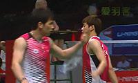 李龙大/高成炫VS金德沃克/舍特勒 2013苏迪曼杯 男双1/4决赛视频