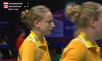 皮克/穆斯肯斯VS布鲁斯/菲莉斯 2013苏迪曼杯 女双资格赛视频