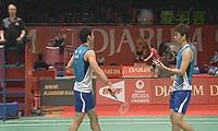 高成炫/李龙大VS李胜木/蔡佳欣 2013印尼公开赛 男双1/8决赛视频