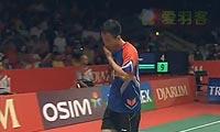 狄奥尼修斯VS杜鹏宇 2013印尼公开赛 男单1/4决赛视频