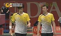 申白喆/柳延星VS阿尔文/基多 2013印尼公开赛 男双1/4决赛视频