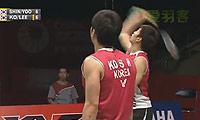 高成炫/李龙大VS申白喆/柳延星 2013印尼公开赛 男双半决赛视频