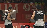阿山/塞蒂亚万VS高成炫/李龙大 2013印尼公开赛 男双决赛视频