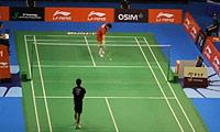 上田拓马VS坂井一将 2013新加坡公开赛 男单1/8决赛视频