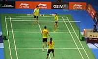 包宜鑫/成淑VS普缇塔/沙西丽 2013新加坡公开赛 女双1/8决赛视频