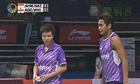 艾哈迈德/纳西尔VS爱德考克/怀特 2013新加坡公开赛 混双1/4决赛视频