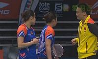 田卿/赵芸蕾VS尼蒂娅/波莉 2013新加坡公开赛 女双半决赛视频