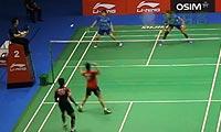艾哈迈德/纳西尔VS乔丹/玛丽莎 2013新加坡公开赛 混双半决赛视频