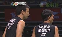 阿山/塞蒂亚万VS高成炫/李龙大 2013新加坡公开赛 男双决赛视频
