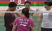 黄东萍/贾一凡VS陈清晨/何嘉欣 2013亚青赛 女双决赛视频