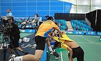 你妹,男双变泰拳!加拿大开赛泰国男双内讧互殴