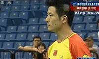 蔡赟/傅海峰VS洪炜/沈烨 2013国羽世锦赛模拟赛 男双资格赛视频