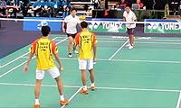 汤松桦/王天阳VS文森特/丹尼尔 2013加拿大公开赛 男双1/16决赛视频