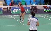 今別府香里VS易泰 2013加拿大公开赛 女单1/16决赛视频