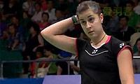 马琳VS菲尔达萨里 2013世锦赛 女单资格赛视频