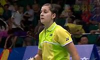 马琳VS布桑兰 2013羽毛球世锦赛 女单1/16决赛视频