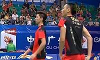 鲍伊/摩根森VS柴飚/张楠 2013羽毛球世锦赛 男双1/8决赛视频