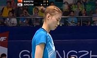 王晓理/于洋VS郑景银/金荷娜 2013羽毛球世锦赛 女双1/4决赛视频