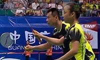 徐晨/马晋VS申白喆/严惠媛 2013羽毛球世锦赛 混双半决赛视频