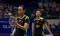 艾哈迈德/纳西尔VS张楠/赵芸蕾 2013羽毛球世锦赛 混双半决赛视频