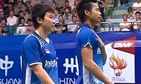 艾哈迈德/纳西尔VS徐晨/马晋 2013羽毛球世锦赛 混双决赛视频