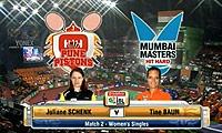 申克VS鲍恩 2013印度羽毛球联赛 女单资格赛视频