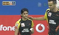 尼尔森/蓬纳帕VS吴伟申/加德雷 2013印度羽毛球联赛 混双资格赛视频