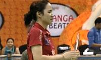 妮查恩VS马琳 2013印度羽毛球联赛 女单资格赛视频