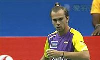 约根森VS贾亚拉姆 2013印度羽毛球联赛 男单资格赛视频