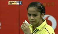 内维尔VS戴资颖 2013印度羽毛球联赛 女单半决赛视频
