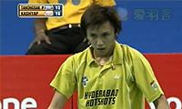 坦农萨克VS卡什亚普 2013印度羽毛球联赛 男单半决赛视频