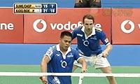 鲍伊/基多VS乔普拉/雷迪 2013印度羽毛球联赛 男双半决赛视频