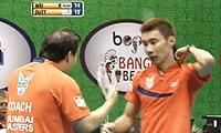 李宗伟VS加卢西达 2013印度羽毛球联赛 男单半决赛视频
