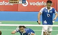 基多/皮娅VS伊万诺夫/鲍恩 2013印度羽毛球联赛 混双半决赛视频
