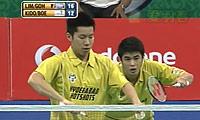 吴伟申/林钦华VS鲍伊/基多 2013印度羽毛球联赛 男双决赛视频